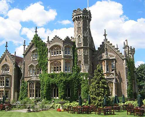 Oakley Court wedding venue Berkshire