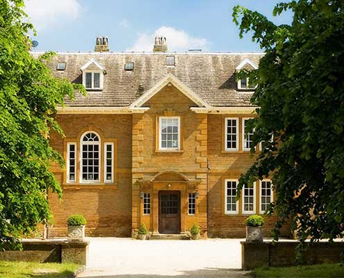 Poundon House wedding venue Oxfordshire