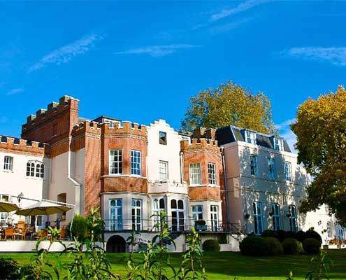 Taplow house wedding venue
