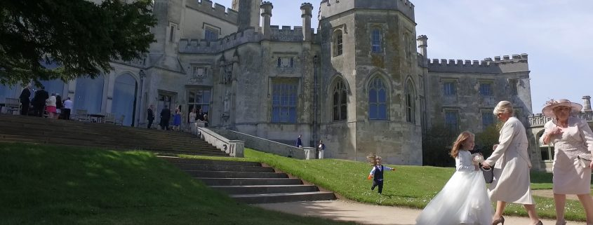 Couple grounds Ashridge House wedding video