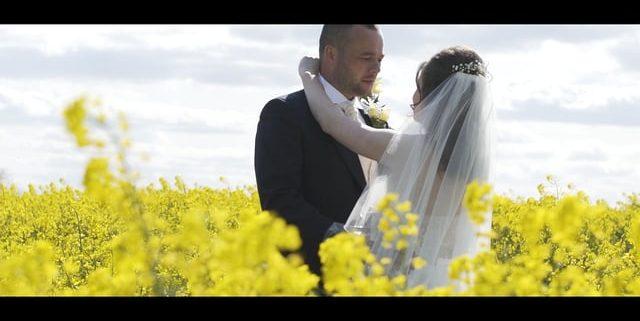 Wedding film Notley Barn
