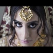 Indian wedding bride at Hedsor House