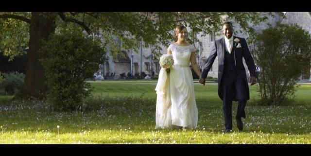 Notley Abbey wedding video