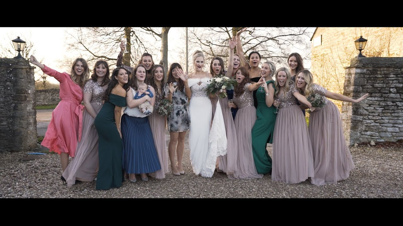 Great Barn Aynho wedding video