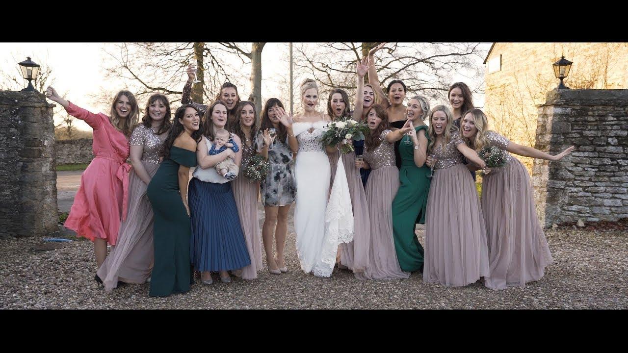 Great Barn Aynho wedding video