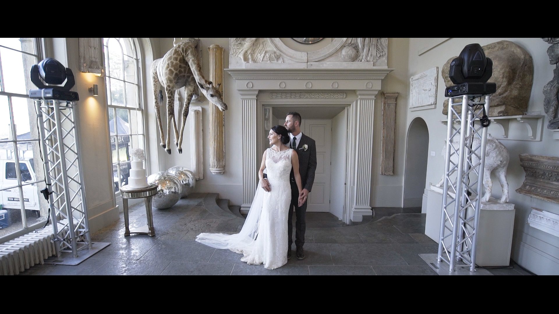 cinematic wedding video by best wedding videographer in London