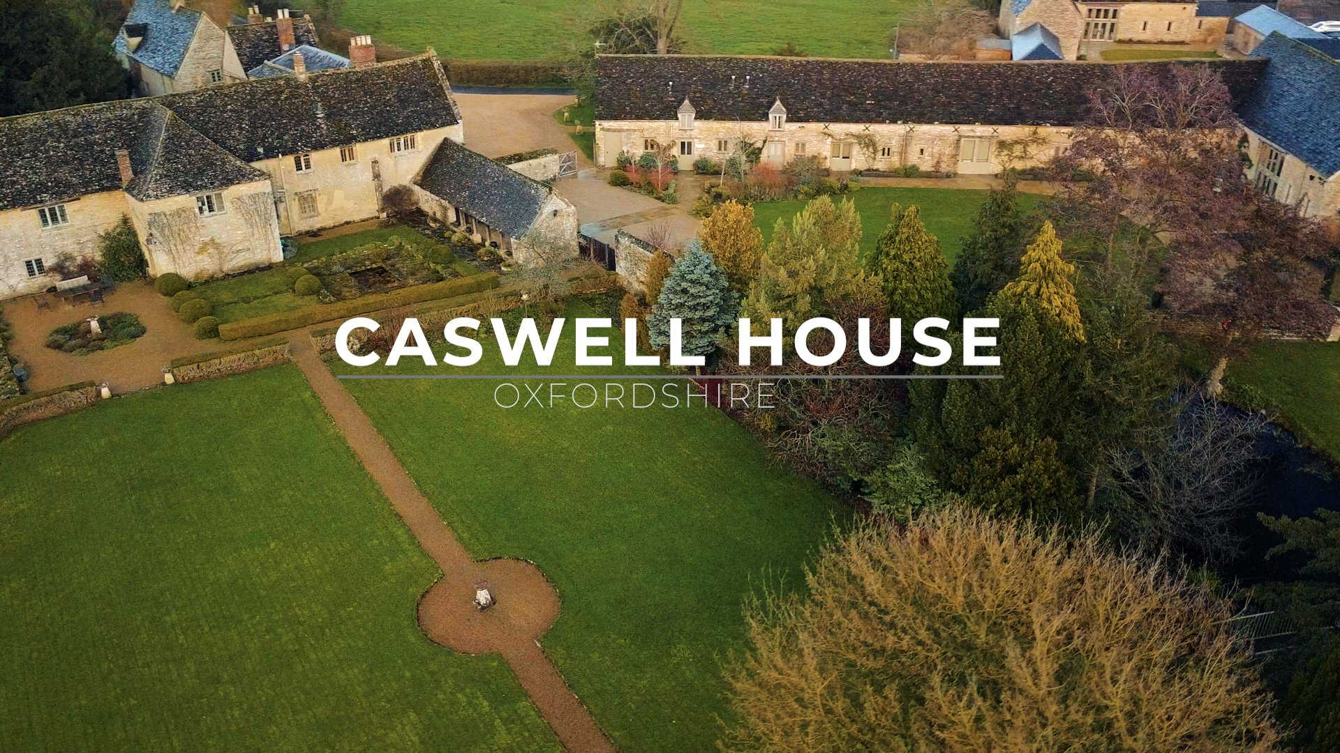 caswell house aerial shot full